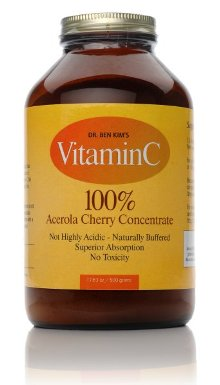 Real Vitamin C From Acerola Cherry Powder