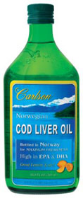 Carlson's Lemon Flavoured Cod Liver Oil