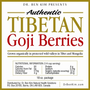 Authentic Tibetan Goji Berries