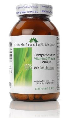 100% Whole Food Vitamin and Mineral Formula