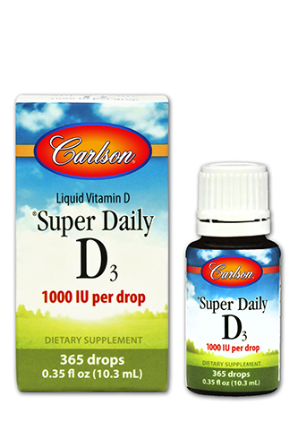 Deeply discounted price on Carlson Vitamin D Drops 1000 IU ba17a9113d6